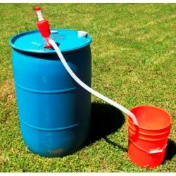 Ръчна голяма помпа за течности, масла, горива