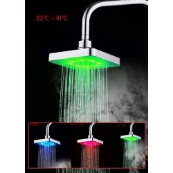 Светеща LED душ пита 3 цвята