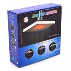 Светеща LED душ пита 7 цвята