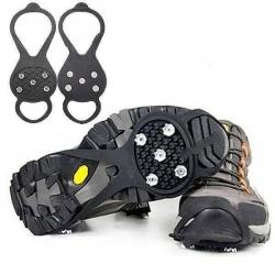 Зимни вериги за обувки за безопасно ходене – 2 броя Ледоходки Snow Claw