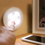 LED Светодиодна лампа с дистанционно управление на батерии