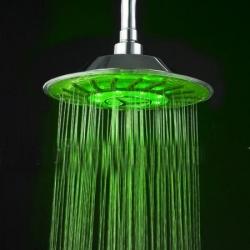 Светеща LED душ пита
