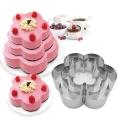 Форма за торта ЦВЕТЕ комплект от 3 части
